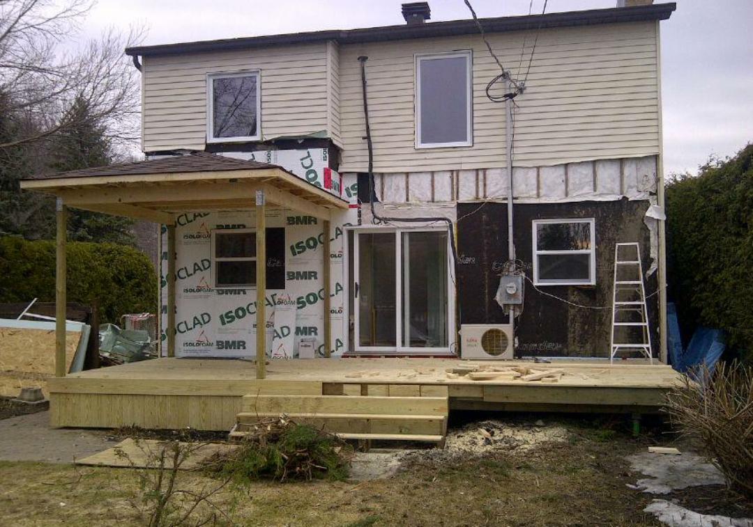 M & M - Renovation - Solarium - House expansion